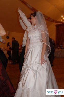 Przepiękna suknia ślubna