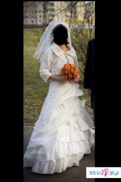 Przepiękna suknia ślubna amerykańskiej firmy  Mori Lee