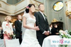Przepiękna Suknia Ślubna ANNAIS r.34-36 st. idealny