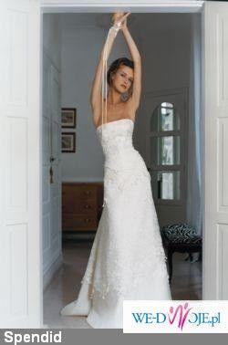 przepiękna suknia ślubna CYMBELINE SPENDID (dawniej Sabrine)