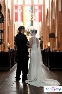 Przepiękna suknia ślubna Demetrios 1332