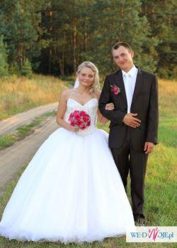 przepiękna suknia ślubna demetrios 2751, rozm. 36