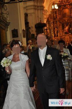 Przepiękna suknia ślubna ecru 40/42 m. 314 Visual Chris