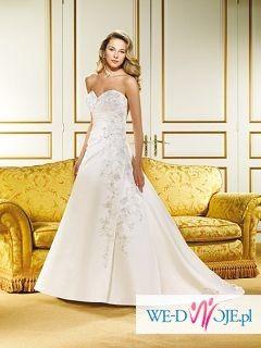 Przepiękna suknia ślubna Eddy K