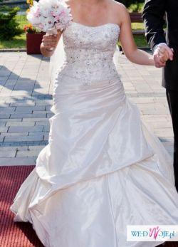 Przepiękna suknia ślubna firmy ENZOANI !!!