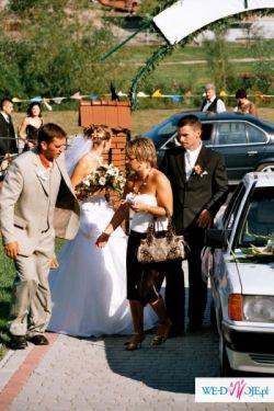 Przepiękna suknia ślubna firmy Farage gallaxy 4000