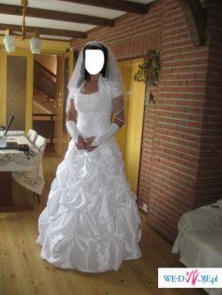 przepiękna suknia ślubna firmy Karina