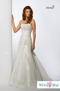 Przepiękna suknia ślubna Herm's Linsor