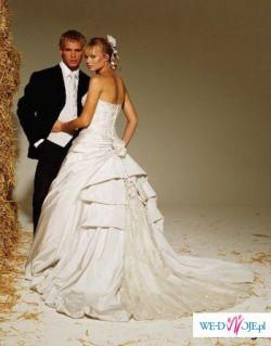 Przepiękna suknia ślubna Ian Stuart