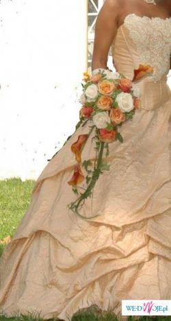 przepiękna suknia ślubna -inna niż inne