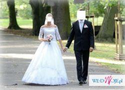 Przepiękna Suknia ślubna - kolekcji GALA 2012 - model Torissa + DODATKI!!