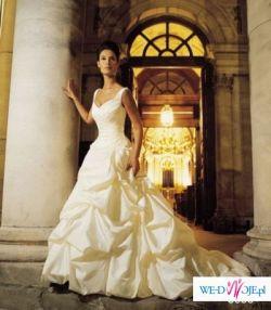 Przepiękna suknia Ślubna kolekcji Justina Alesandra