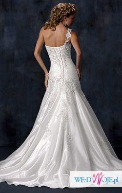 Przepiękna suknia ślubna LEONI Maggie Sottero