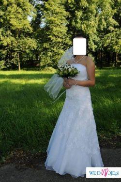 Przepiękna suknia ślubna MS MODA -r38 - 600 zł !
