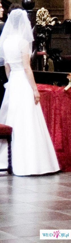 Przepiękna suknia ślubna! Okazja!!