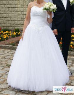 Przepiękna suknia ślubna Ortelle rozmiar 36-38!!
