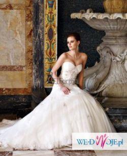 Przepiękna suknia ślubna projektantki Sophii Tolli (jesień 2010)