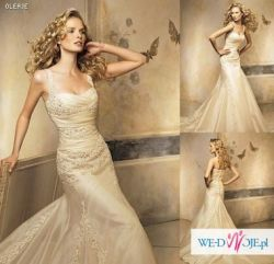 Przepiękna Suknia Ślubna Pronovias OLEAJE ! Okazja