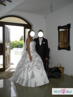Przepiękna suknia ślubna r.40