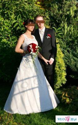 >>Przepiękna Suknia ślubna, również dla kobiety w ciąży