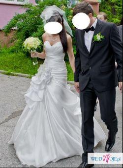 Przepiękna suknia ślubna roz36-38
