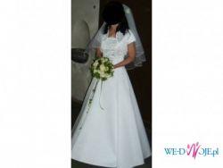 Przepiękna suknia ślubna rozm.36