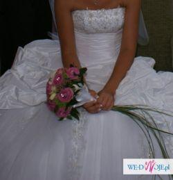 Przepiękna suknia ślubna rozmiar 34-36