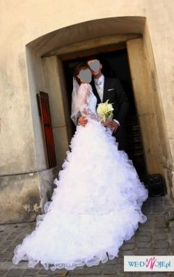Przepiękna suknia ślubna rozmiar 34/36