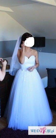 Przepiękna suknia ślubna Salon Afrodyta 2014 36/38