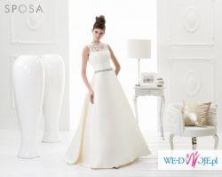 Przepiękna SUKNIA ŚLUBNA Sposa Isabel 2014