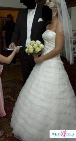 Przepiękna suknią ślubna Sweetheart 5846