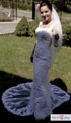 Przepiękna Suknia Ślubna - Sweetheart 5898