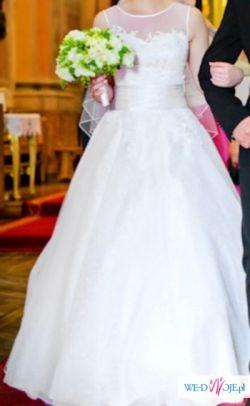 Przepiękna suknia ślubna Sweetheart 6007