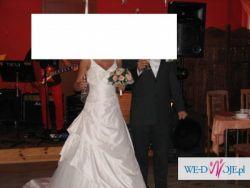 Przepiękna suknia ślubna w której poczujesz się jak księżniczka