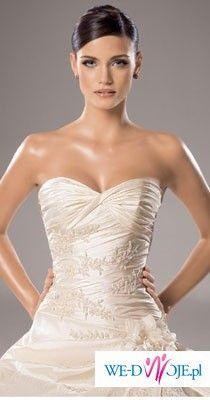 Przepiękna suknia ślubna White One 181 - stan idealny