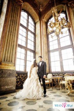 Przepiękna suknia ślubna wzór Vera Wang