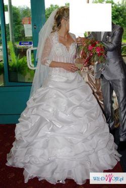 Przepiękna Suknia Ślubna z Agory