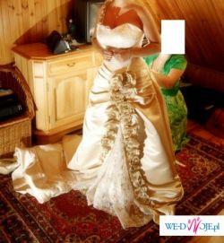 Przepiekna suknia ślubna z Honk-Kongu