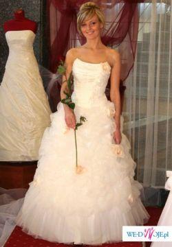Przepiękna suknia ślubna z kolekcji Jadwigi Michalak!!!