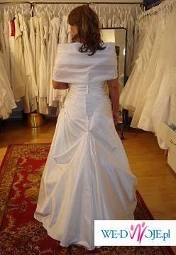 Przepiękna Suknia Ślubna z kolekcji Sincerity model 5200 + dodatki za 1000,00 zł