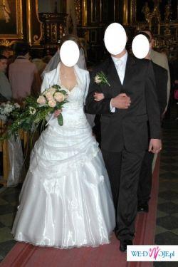 Przepiękna suknia ślubna z okolicy Chełma
