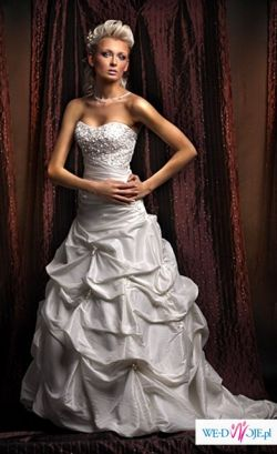 Przepiękna suknia ślubna z salonu Annais Bridal, model Asina