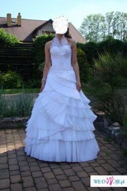 Przepiękna suknia ślubna zakupiona w Emmi Mariage, kolekcja 2009