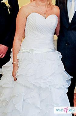 Przepiękna suknia ślubnej - prawdziwa kobiecość