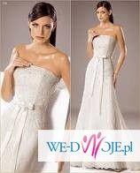 Przepiekna suknia White One 176
