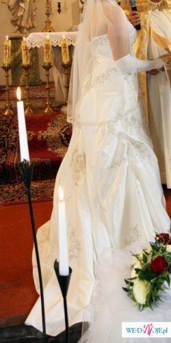 Przepiękna suknia z kolekcji Herm's do sprzedania