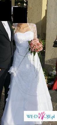 Przepiękna suknie ślubna dla romantycznych Narzeczonych ... :) POLECAM