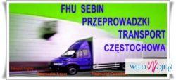 Przeprowadzki Czestochowa Transport  tel. 509-120- 894