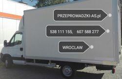 Przeprowadzki Wrocław Tel. 538 111 145