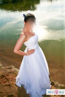 Prześliczna, bajeczna suknia ślubna!!!!
